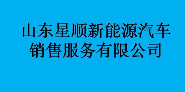 山东星顺新能源汽车销售服务有限公司