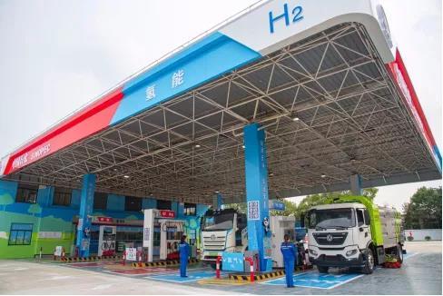 上海首座储氢压力最高达90MPa的青卫油氢合建站正式落成